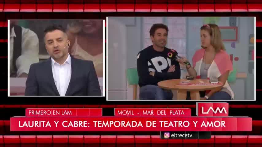 """Nico Cabré reveló que Laurita Fernández hizo cambiar su imagen de \""""antipático\"""""""