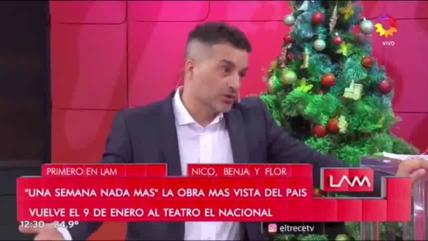Nico Vázquez habló de los rumores de separación