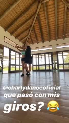 Así se prepara Puli Demaría, la amiga de Pampita, para el Bailando 2020