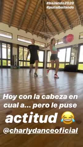 Así se prepara Puli Demaría, la amiga de Pampita, para el Bailando 2020 3