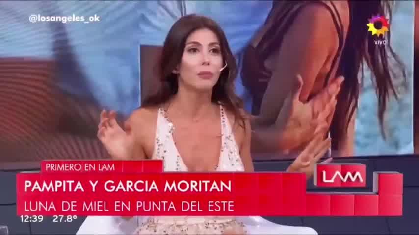 """¿Qué dirá Pampita? Roberto García Moritán quiso conquistar a una \""""angelita\"""""""
