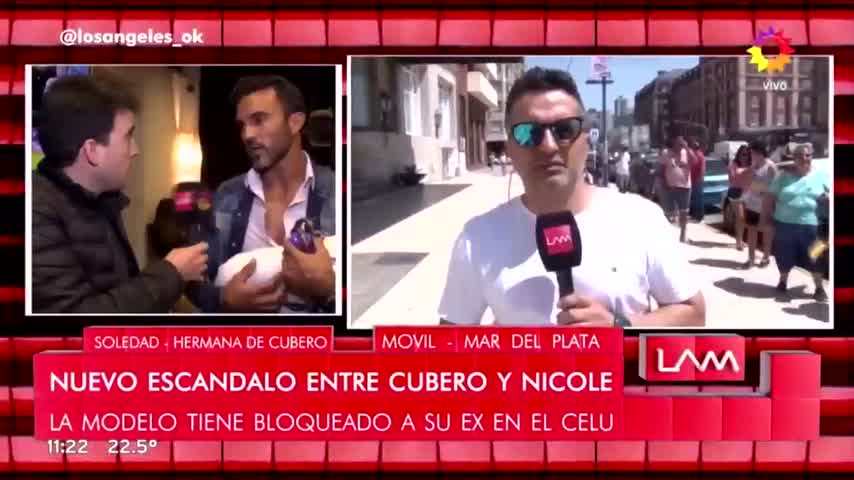 Escándalo entre Cubero y Nicole: los detalles de la nueva guerra