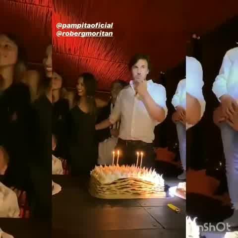 El emotivo video de Pampita en su fiesta de cumpleaños
