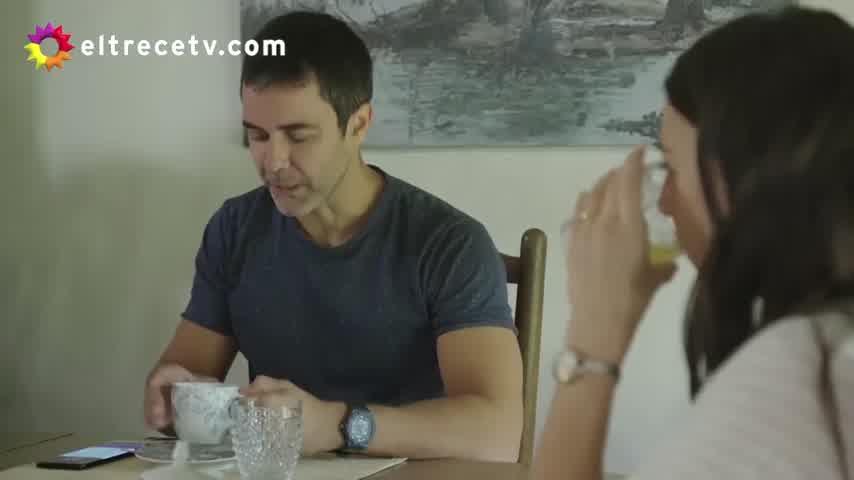 ¡La primera escena de Mariano Martínez y su hija Olivia en Separadas!