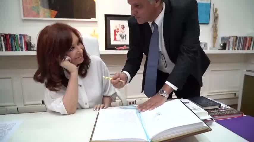 Es oficial: Cristina volvió a ser la presidenta
