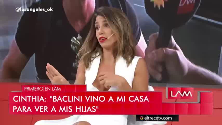 Cinthia Fernández se cruzó con Yanina Latorre