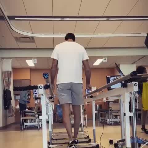 A 48 horas de su operación de rodilla Del Potro mostró como evoluciona
