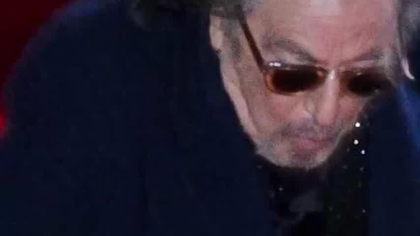 Al Pacino Fall in Bafta 2020