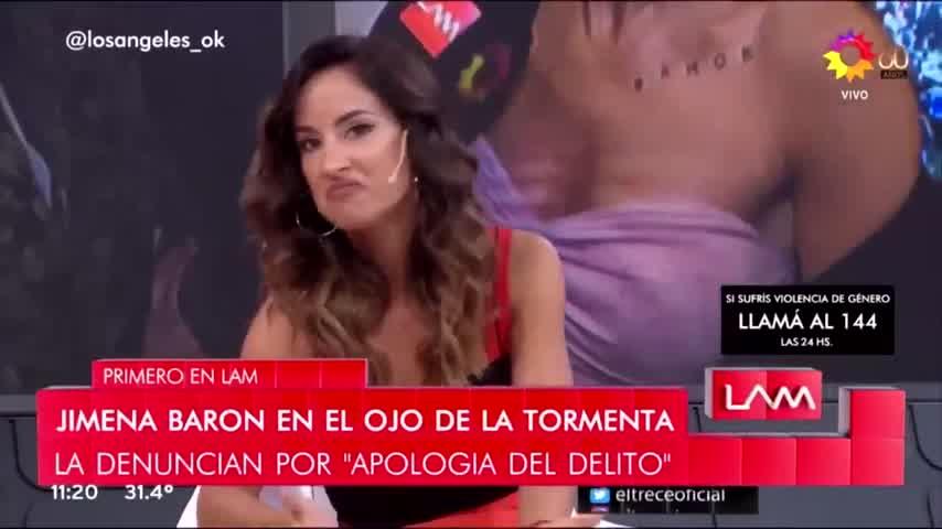 La fuerte acusación de Lourdes Sánchez contra Jimena Barón