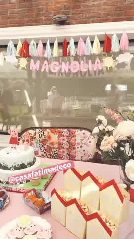 Cumpleaños de Magnolia Vicuña