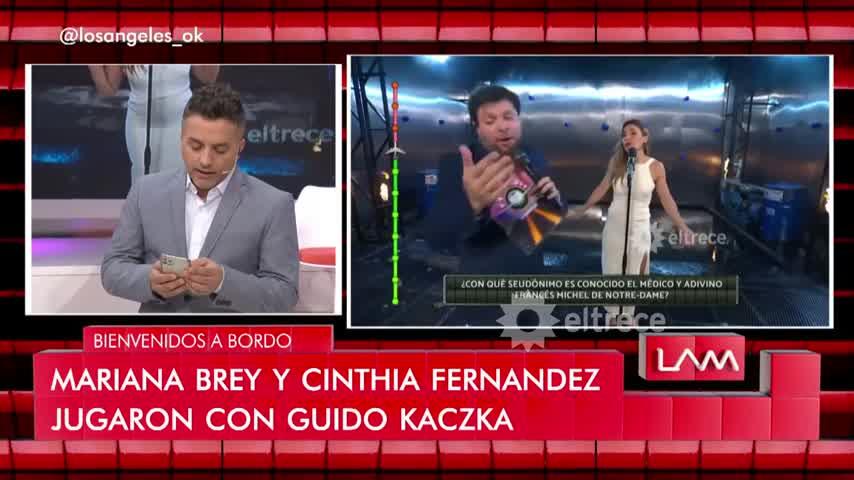 Angel De Brito presentó al musculoso hombre que quiere conquistar a Cinthia Fernández