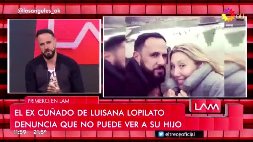 Denuncian a la hermana de Luisana Lopilato, Daniela.
