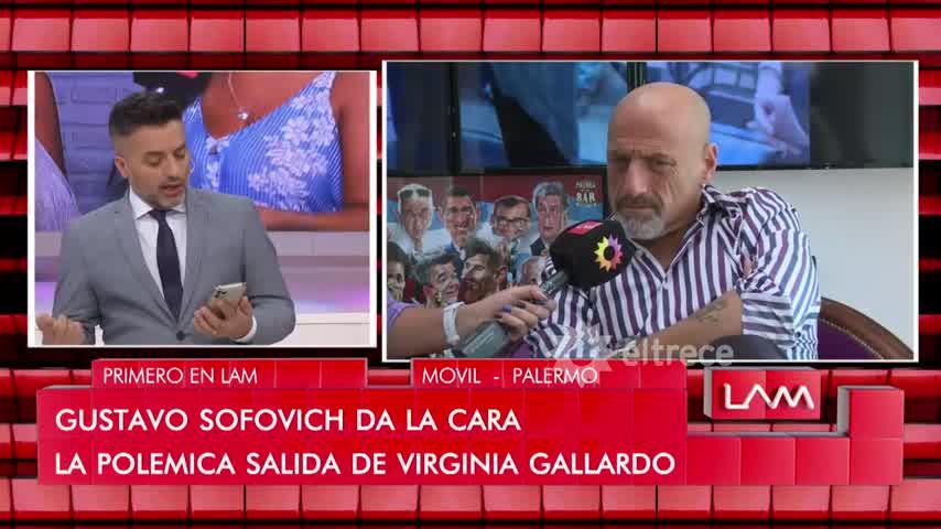 Virginia Gallardo dice que fue echada de la televisión y siembra dudas