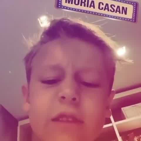 El tierno video de Pampita con Beltrán