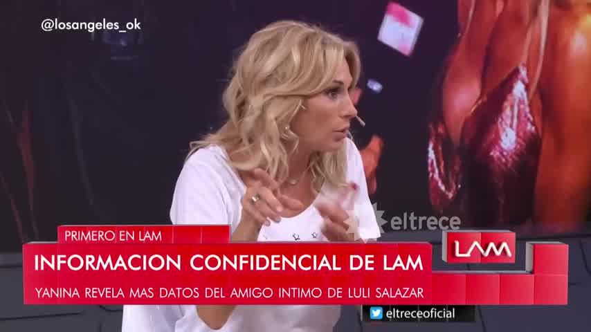 El enojo de Luciana Salazar al ser vinculada con la familia de Máximo Thomsen
