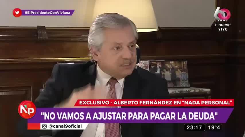 """Alberto Fernández: \""""No esperen que sacrifiquemos a los que peor están para pagar la deuda\"""""""