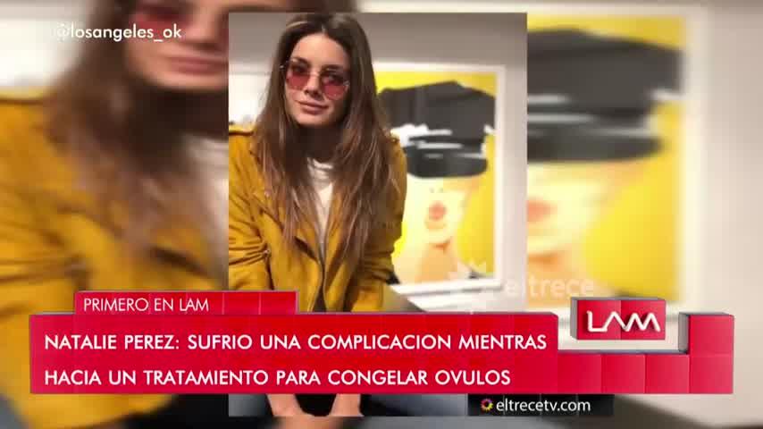 Natalie Pérez rompió el silencio y dio detalles de su internación