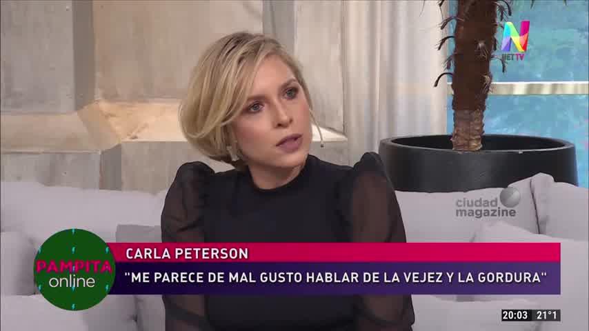 Pampita y un incómodo momento junto a Carla Peterson