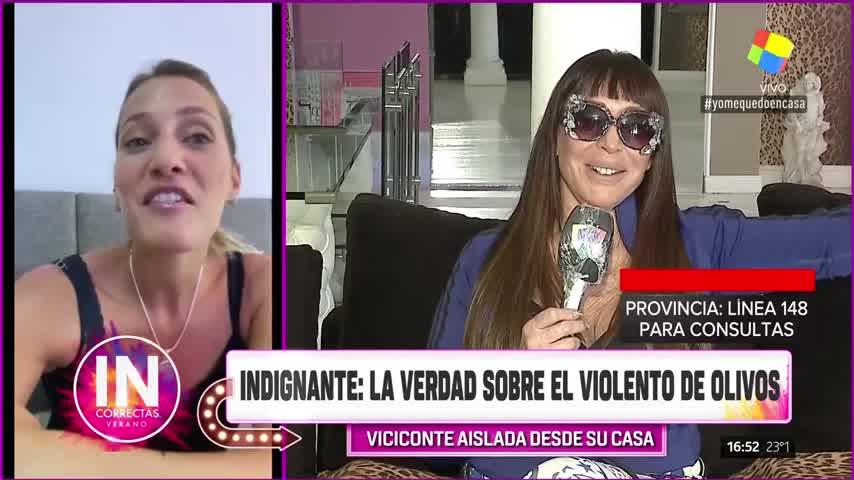 Incorrectas   Mica Viciconte volvió de México y está en cuarentena, cómo lo está viviendo?