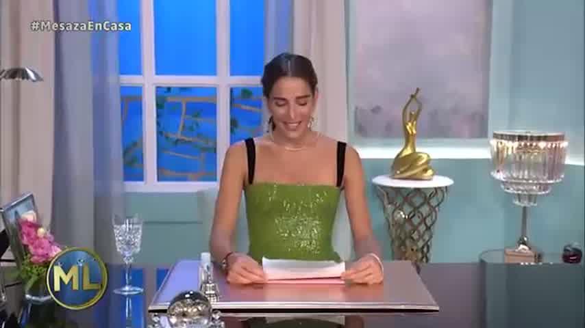 """El mensaje de Juana Viale por el Coronavirus en \""""La Noche de Mirtha\"""""""