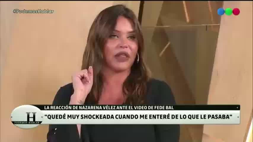 Nazarena Vélez reveló cuál fue su reacción al enterarse de que Fede Bal tenía cáncer