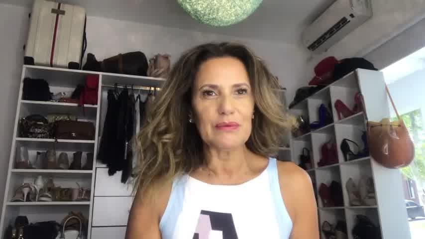 Fernanda Callejon peinado
