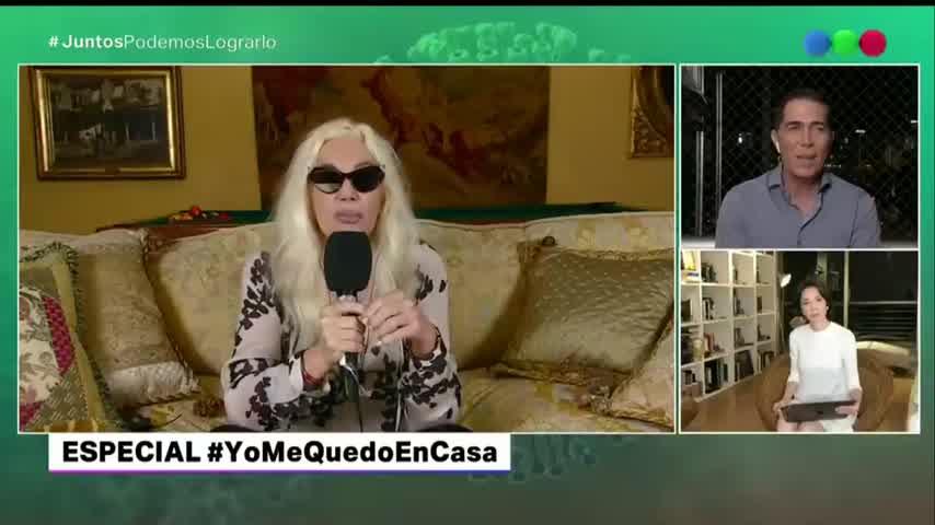 """Susana Giménez, sobre el Presidente: \""""Estoy muy contenta con lo que está haciendo\"""""""