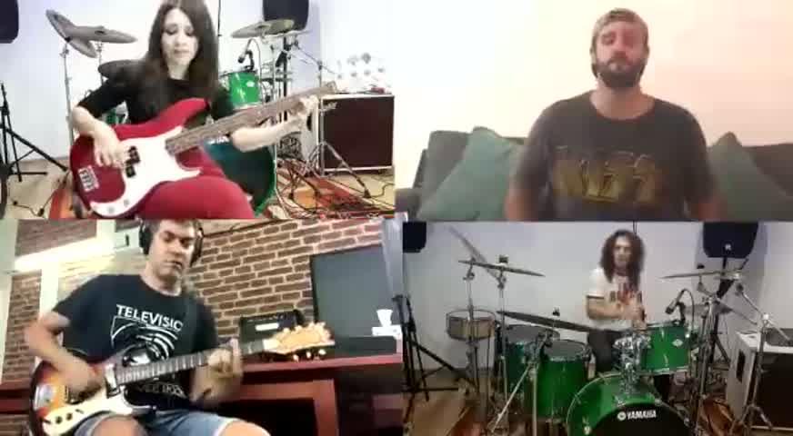 Escuchá y mirá la nueva canción de Valeria lynch grabada a la distancia con sus músicos