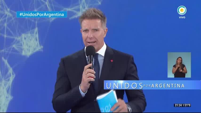 Abel Pintos en Unidos por Argentina