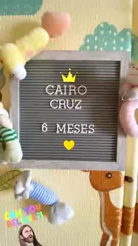 Cairo Cruz cumplió seis meses