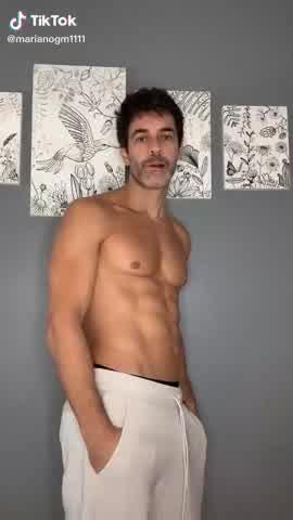 Mariano Martínez subió un video a Tik Tok que generó críticas de sus seguidores