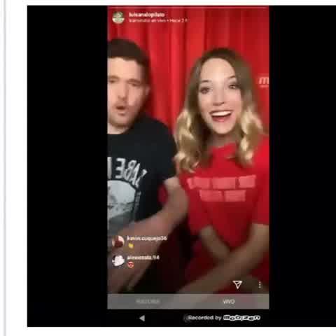 Luisana Lopilato y Michael Bublé, en vivo deesde Instagram