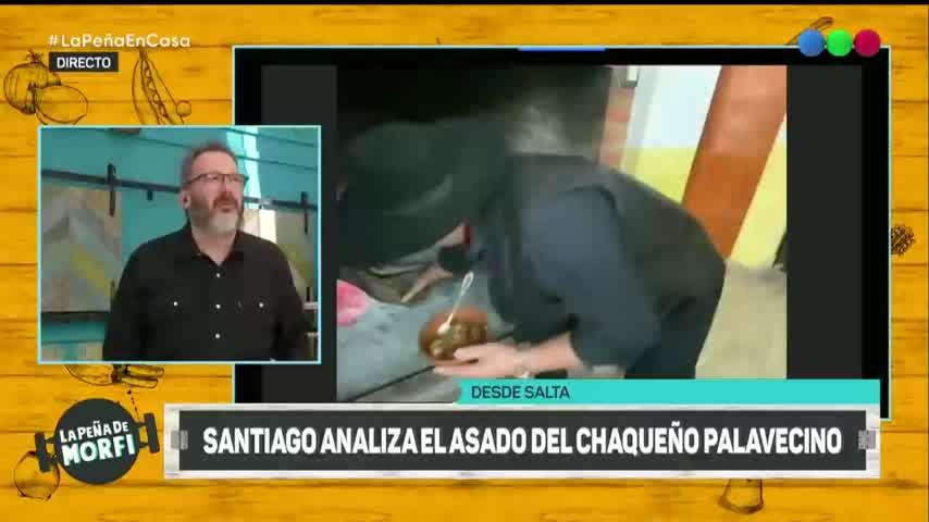 ¿Cómo es un asado del Chaqueño Palavecino? - La Peña 2020