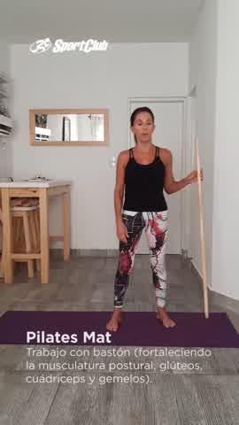 Fortalecé abdomen, glúteos y espalda con Pilates Mat