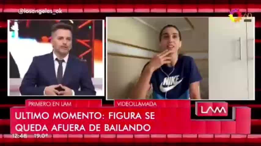 Primera renuncia del Bailando: Agus Agazzani se bajó del certamen