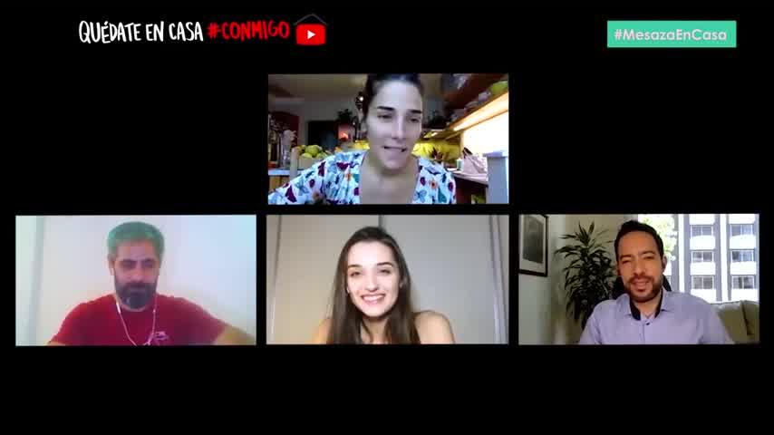 Juanita Viale reveló con quién convive en cuarentena