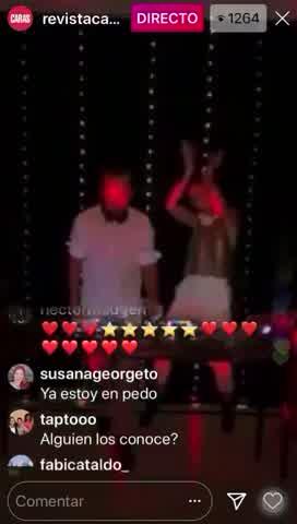 Puli Demaría y Chule Bernardo, toda la energía en el primer Caras Live Party