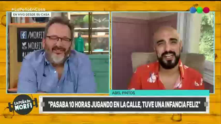 Abel Pintos reflexionó sobre la llegada de su hijo y habló de su novia