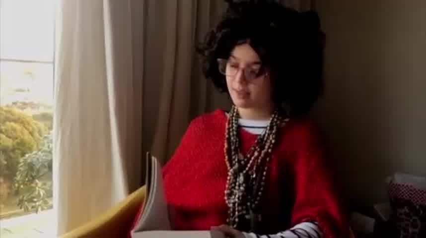 VIDEO | La nieta de Graciela Borges se animó a imitarla y es viral en las redes