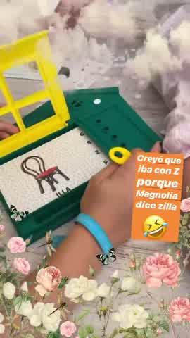 La China Suárez mostró los juegos de Rufina y Magnolia en cuarentena 2