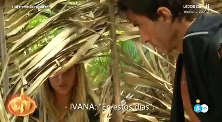 Fuertes sospechas: Ivana Icardi se hizo un test de embarazo en televisión