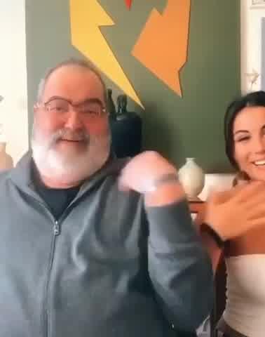 Jorge Lanata se unió a Tik Tok en un divertido video con su hija