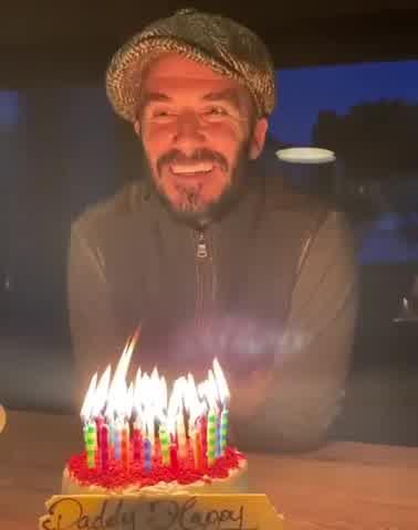 Cumpleaños de David Beckham