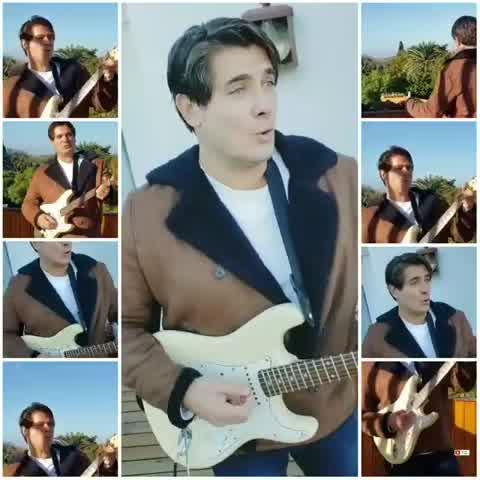 Guillermo Andino toca Hey Jude