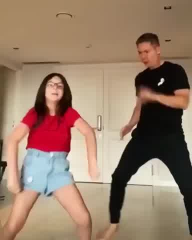 Adrián Suar compartió una desopilante clase de baile con su hija