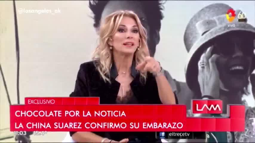 La China Suárez confirmó su embarazo