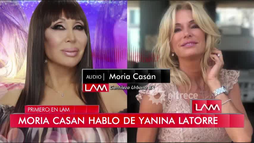 """Yanina Latorre contra Moria Casán: \""""Sos el ser más nefasto y humillador\"""""""