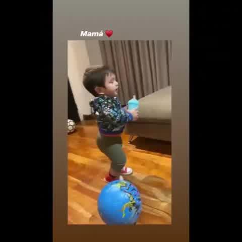 El hijo de Morena Rial dijo mamá