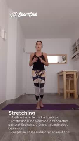 Stretching para aliviar los dolores musculares
