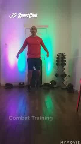 Quemá calorías con Combat Training en casa